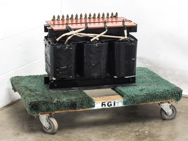 Comptech 100782 Transformer from 10KW RF Generator PRI:208/240 SEC:46003 3-Phase