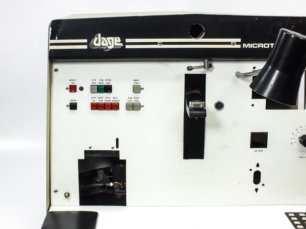 Dage Microtester 22 Wire Bond Pull & Shear Tester - FOR PARTS (MF-22A)