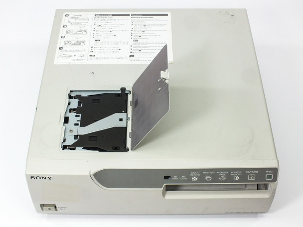 Sony UP-2100 Small Format Color Video Printer S-Video/BNC Tested GOOD