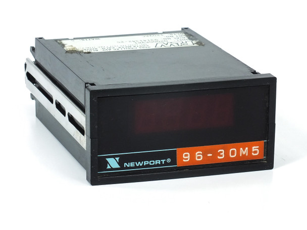 Newport Q2000AVR1 DC Voltmeter Panel Meter 1/8 DIN 120-Volt AC
