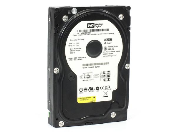 """Western Digital WD800BB-55JKC0 80GB 3.5"""" IDE ATA Internal Hard Drive BLACK"""