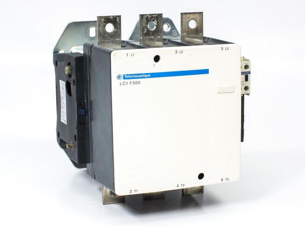 Schneider Electric LC1F500 1kV Heavy Duty 3-Pole Contactor 700A 335kW - No Lugs