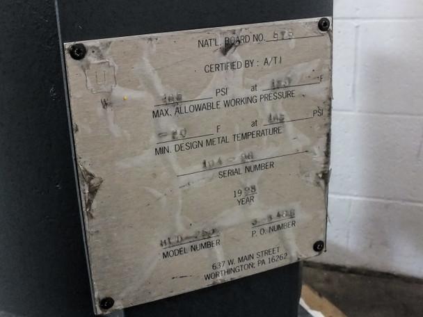 Mattei Heatless Regenerative Air Dryer AS-IS  (HLD-250)