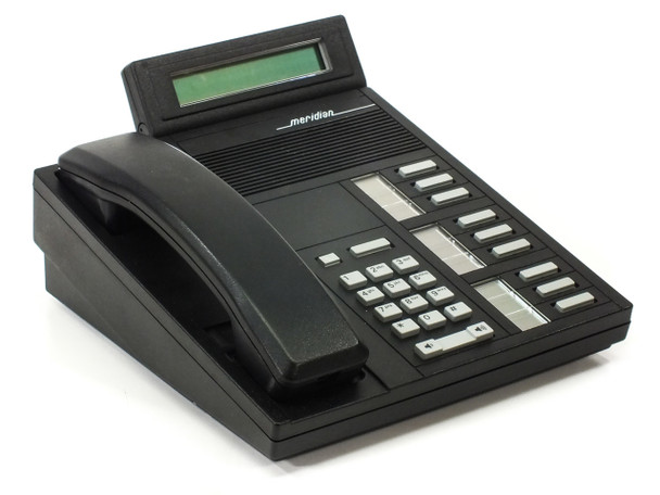 Nortel Series M5209T BLACK Office Telephone with Accessories UNTESTED (NTBX90FA)
