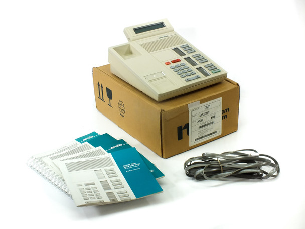 Nortel NTBX90EA Series M5209T ASH Office Telephone with Accessories