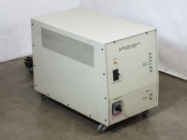 AAA Power Systems CP6 10kVA 208V Constant Power Supply Line Conditioner