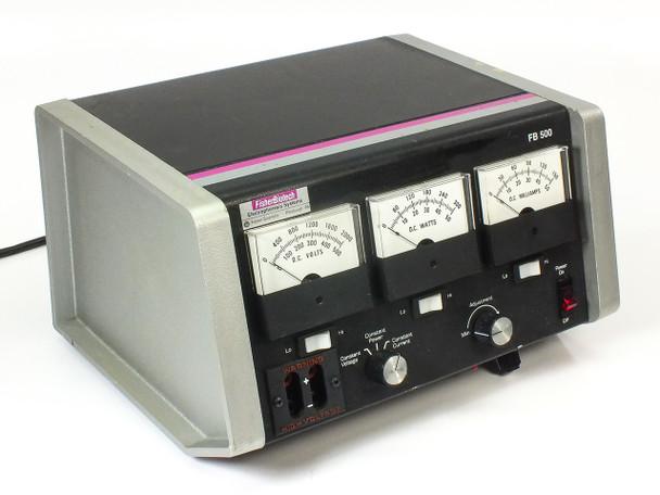 Fisher Scientific FB 500 Electrophoresis DC Power Supply