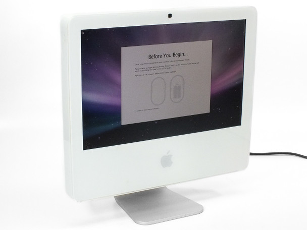 """Apple A1173 17"""" All-in-One iMac 4.1 Core Duo 1.86GHz 1GB RAM 160GB HDD"""