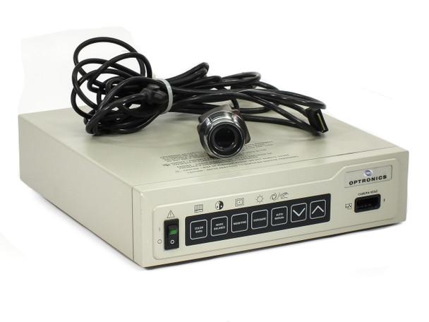Optronics 60670 DEI-750 CE Microscope Video Camera + Controller System - NTSC