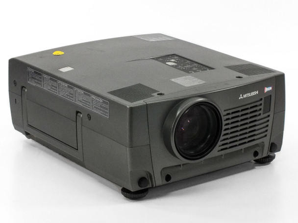 Mitsubishi X490U LCD Projector 2600 Lumens - Green Discoloration - As Is