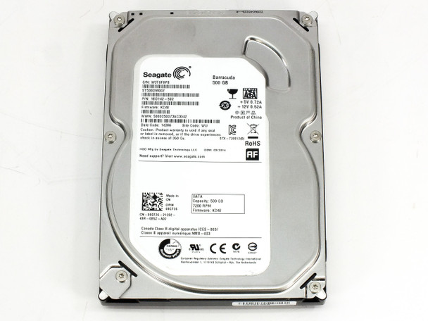 Dell 09CF26 500GB SATA Hard Drive 7200RPM - Seagate ST500DM002 1BD42-502