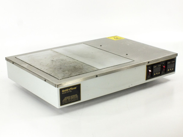 "Automated Production Systems APS GF-DL APS Gold Flow Dual Hot Plate 2x 13"" x 6"""