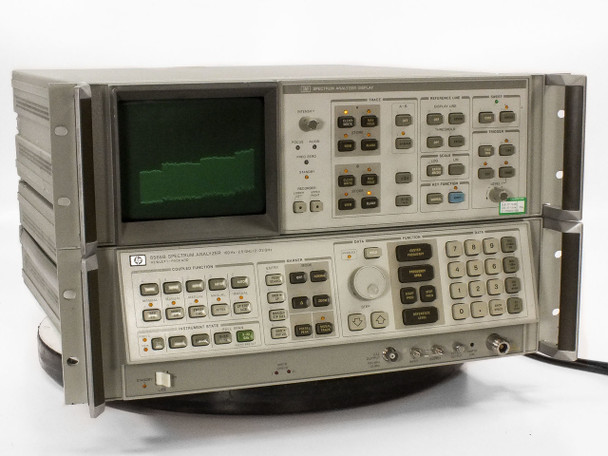 HP 8566B Spectrum Analyzer 100 Hz to 22 GHz with Display - No Rack Ear / Handles