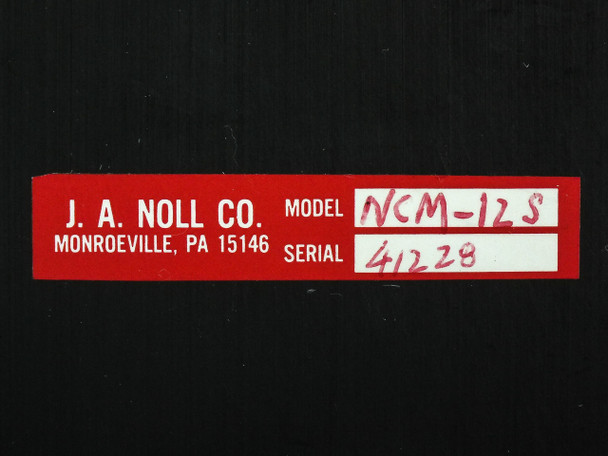 "J. A Noll NCM-12S Large 12"" Optical Mirror Mount Holder with Base"