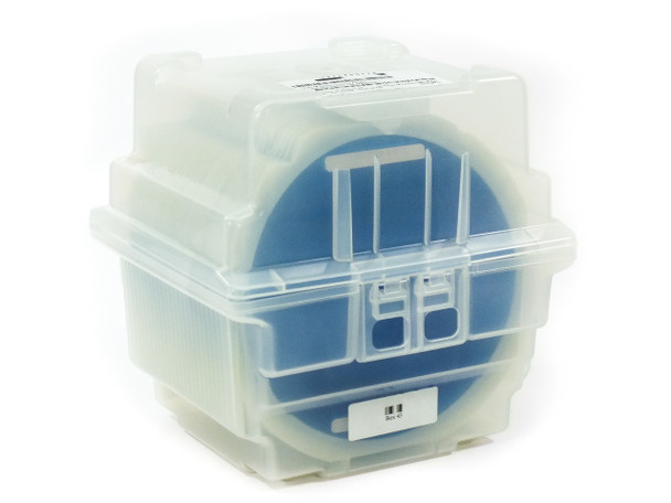 """Spectrolab 12-045774-301 8.5"""" Wafer Container with QTY = 25 Holders"""