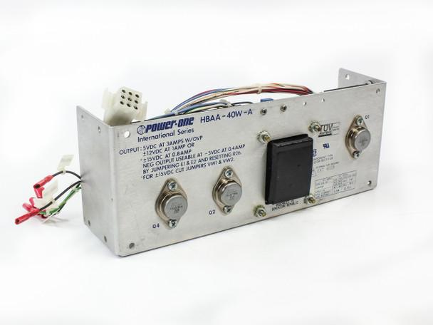 Power-One HBAA-40W-A Power Supply PRI: 115/230 VAC SEC 5/12/15 VDC