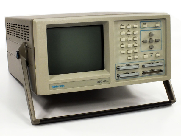 Tektronix 1230 Logic Analyzer with P6444 Text Leads Clips and Reference Guide