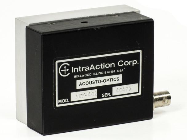 IntraAction AFM-402 Acousto-Optics Sensor with COAX Port - RF Power