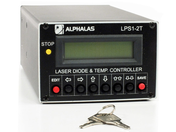 Alphalas LSS1-2T Laser Diode Driver and Double Temperature Controller