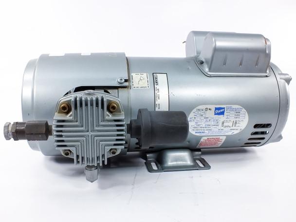 Gast 6HCA-10-M616NEX Oilless Dual Piston Air Compressor