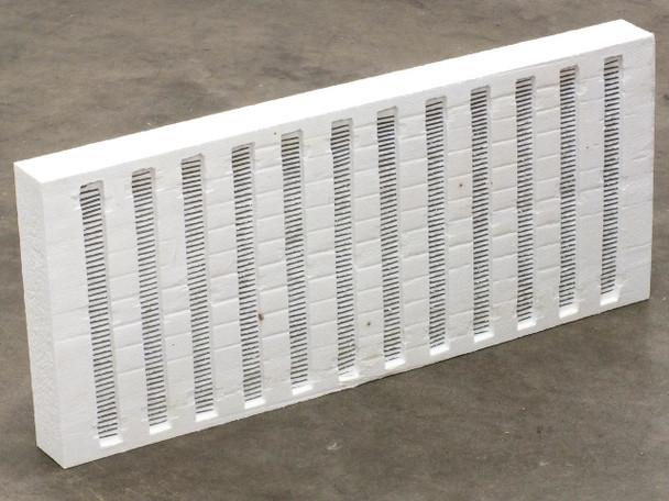 "Rex Materials 4018-1676-00M Moldatherm Heater Panel 5kW 230V 2.5""T 11.9""W 27.5""L"