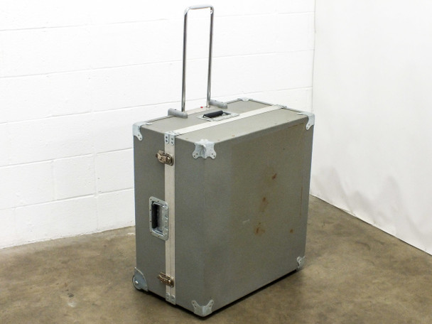 "Penn Fabrication 25"" x 24"" x 13"" Hard Travel Case with Wheels"