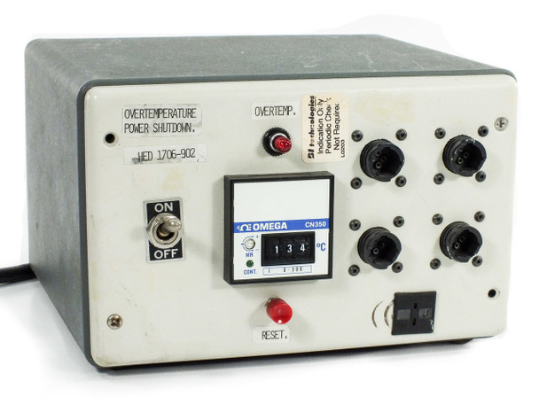 Beckman Industries Technologies Custom Over-Temperature Shutoff Control Unit with Omega CN350