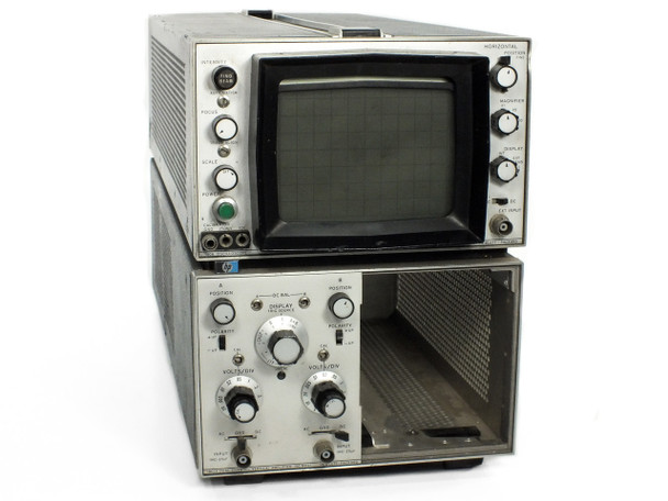 HP 180A Oscilloscope with 1801A Amp - Does Not Power On - As Is