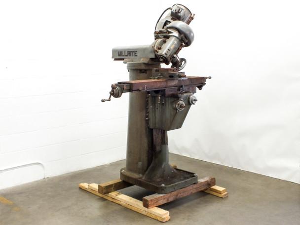 US Burke Machine Tool Co MVI Millrite Adjustable Angle Lathe 180° Rotation 115 Volt
