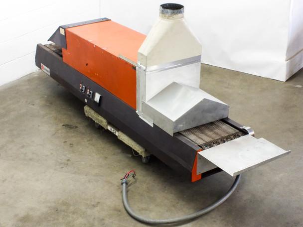 """Glo-Quartz TR91-12A Infrared Tabletop Belt Furnace w/ 12"""" Belt 240 Volt 9kW"""