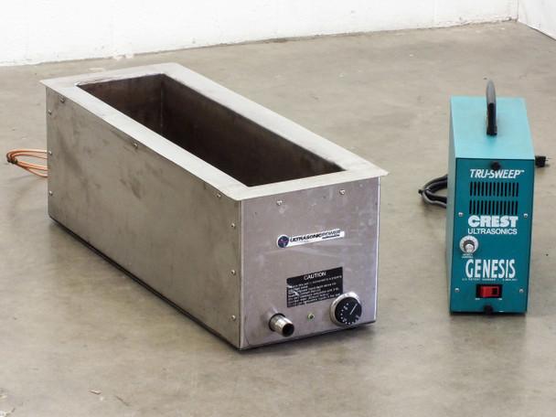 Crest 4G-500-6 Genesis Ultrasonic Generator 13.4L 3.5Gal HEATED Tank 50-26-235