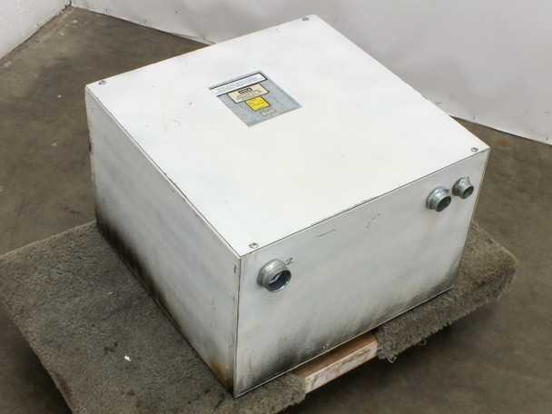 AJax 3T90272 Transformer 16.25kVA 3-Phase PRI: 208 Delta in Asco Junction Box