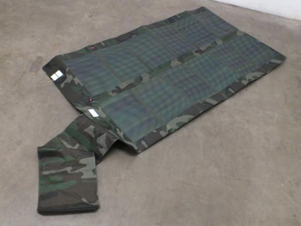 Global Solar 42W P3 24V Foldable CIGS Military Woodland Camo Solar Panel w/ETFE