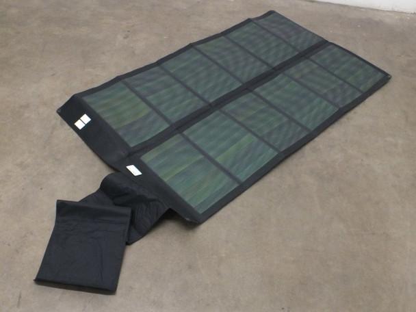 Global Solar 42 Watt Powerflex 24V Foldable CIGS Solar Panel w/ETFE - Black