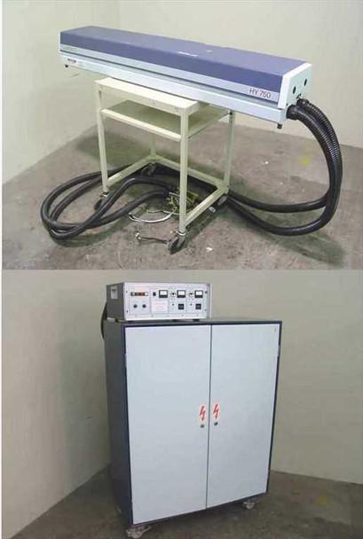 Lumonics HY750 YAG Laser & 3.7KW 4.5KVA Power Supply - As Is