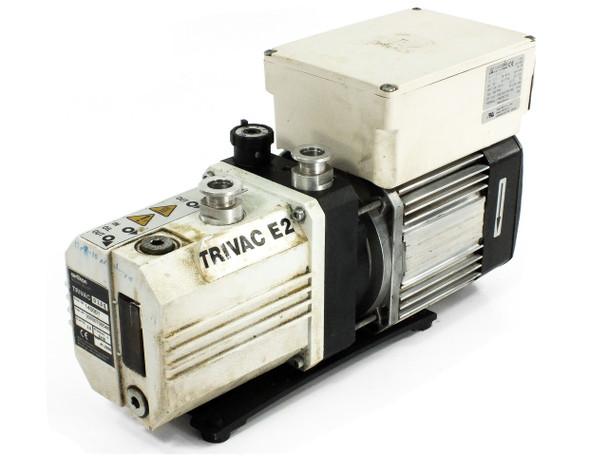 Oerlikon Leybold 140001 Trivac D 2, 5 E Dual Stage Rotary Vane Vacuum Pump
