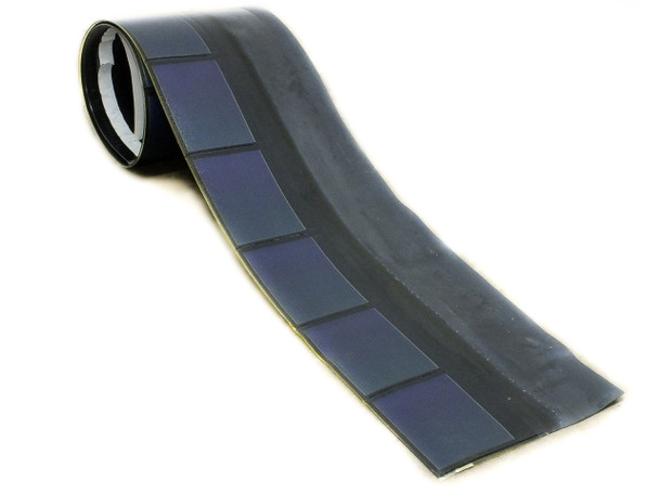Uni-Solar SHR-17 17W Flexible Solar Panel Roofing Shingle - 9V with Bottom Wires