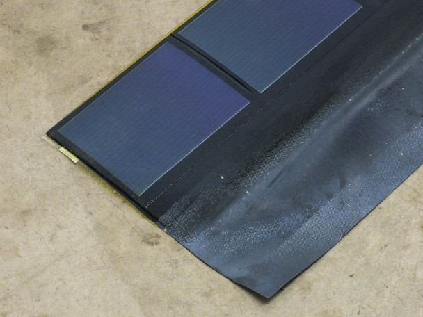 Uni-Solar SHR-17 17W Solar Roofing Shingles Flexible Amorphous Carton of 15
