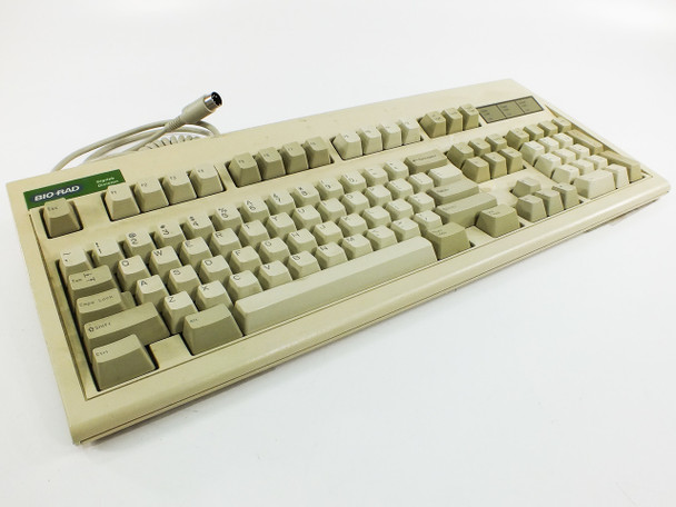 Keytronic E03600QL Bio-Rad DigiLab AT Keyboard - Unique Keys - As Is
