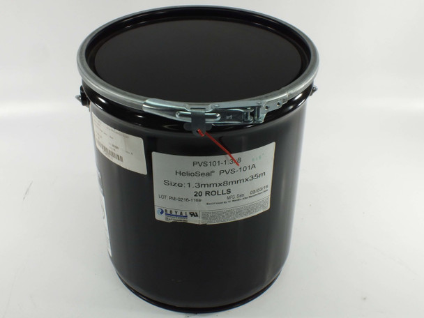 Royal PVS-101A HelioSeal 1.3mm x 8mm x 35m - Canister of 20 Rolls - PVS101-1.3x8