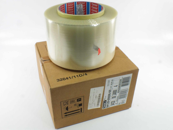 "Tesa 4129 Tape Transparent PET Backing Solar Panel Edge Tape 5/32"" (4mm) Wide Roll"