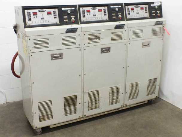 Sterl-Tronic M8332-A Set of 3 9kW Sterlco Temperature Controllers 460VAC 36A 3Ph
