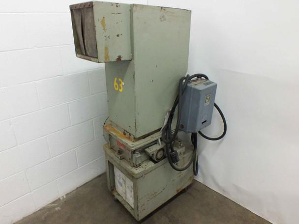 Nelmor G810M1 Plastic Shredder Granulator 230/460 VAC 13.6/6.8 Amp 3-Phase
