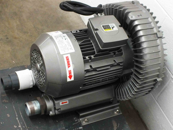 "Republic HRB 900 Large Regenerative Blower 353CFM / 138"" H2O 230/480 Volt AC -"