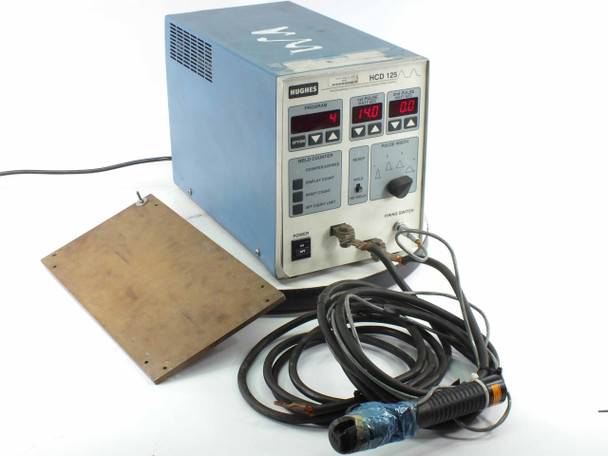 Hughes HCD-125 Programmable Capacitor Discharge Welder Power Supply
