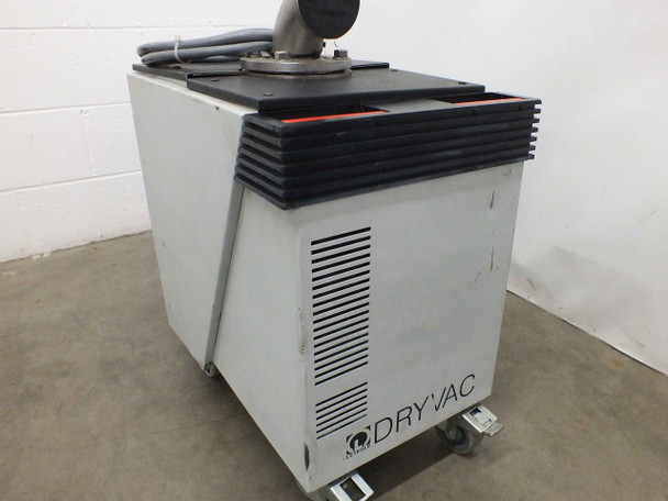 Leybold DryVac 25B Dry Vacuum Pump 208~230/460 Volt AC 11 Amp Water Cooled
