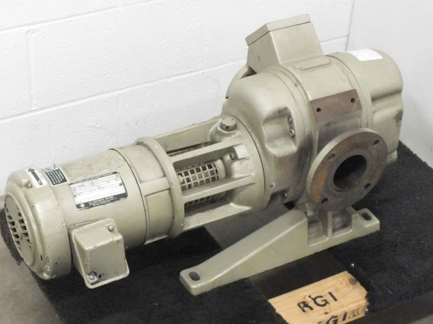 Leybold RUVAC WAU150 Heraeus Roots Blower Booster Vacuum Pump - As Is