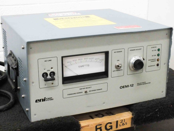 Eni Power Systems OEM 12 RF Power Generator