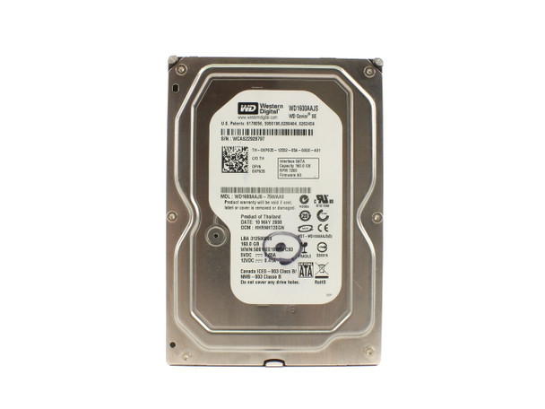 Dell XP935 160GB SATA Hard Drive XP935 - Western Digital WD1600AAJS