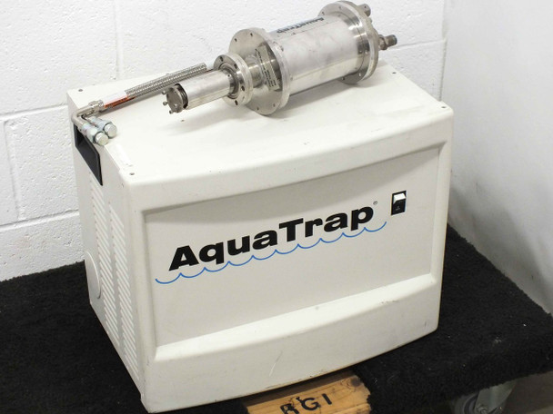 APD Brooks Cryogenics T1101 CryoTiger Compressor AquaTrap T2109 Cold Finger End